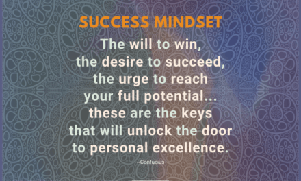 The will to win, the desire to succeed, the urge to reach your full potential…these are the keys that will unlock the door to personal excellence. ~Confucius