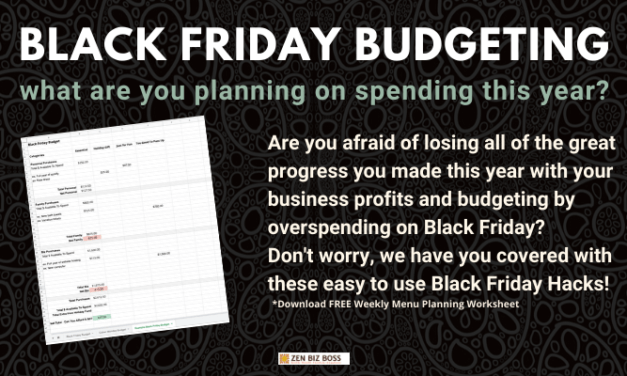 Black Friday Budgeting Made Easy