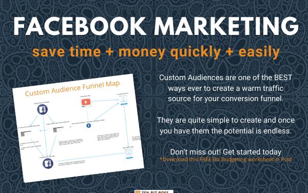 Facebook Custom Audiences Created from Video Views