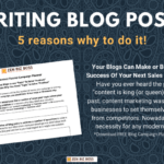 Content Marketing 5 ways to make money WITH YOUR BLOG